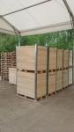 dřevená přepravní bedna
