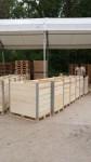 dřevěné přepravní bedny