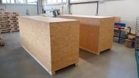 atypické dřevěné bedny